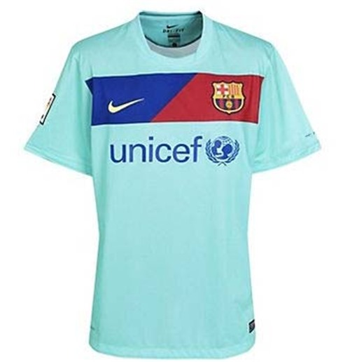 Compra Camiseta FC Barcelona 2010-11 Away Nike de menino Original e64fd9d6dba0e