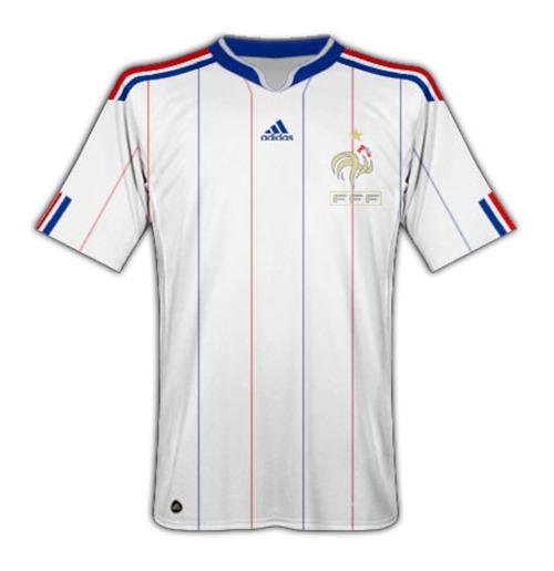 Compra Camiseta França 2010-11 World Cup Away Original c1cbd3b774a35