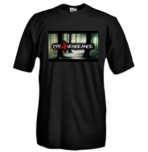 Round necked t-shirt with flex printing - cfv