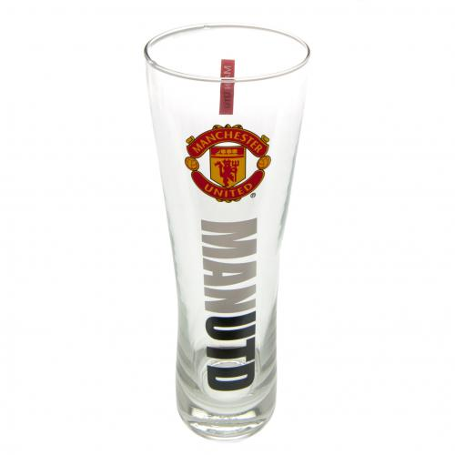 "Copo Alto de Cerveja do time ""Manchester United F.C."""