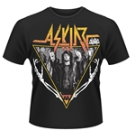 Camiseta Asking Alexandria Skeleton Arms