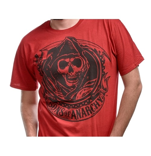 Camiseta Sons of Anarchy Reaper Banner