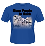 "Camiseta grupo musical ""Deep Purple"" representado album musica ""In Rock"""