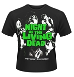 Camiseta A noche dos mortos viventes Night Of The Living Dead