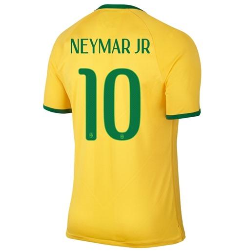 Compra Camiseta Brasil 2014-15 World Cup Home (Neymar Jr 10)