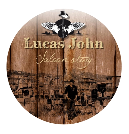 Rounded Mousepad with sublimation printing - Lucas John and The Buddies
