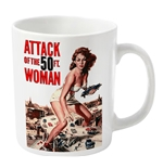 Caneca Attack Of The 50FT Woman Branca