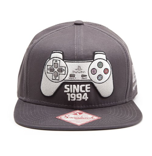 Boné PlayStation One Snapback Since 1994 Controller