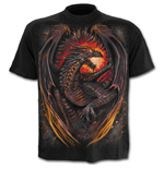 Camiseta Spiral Dragon Furnace
