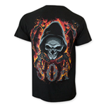 Camiseta Sons of Anarchy Flaming Skull