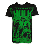 Camiseta Hulk de homem On Black Subway
