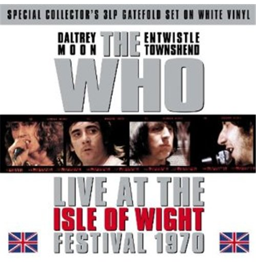 Vinil Who (The) - Isle Of Wight Festival 1970 (White) (3 Lp)