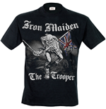 Camiseta Iron Maiden - Sketched Trooper
