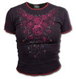Camiseta Spiral - Blood Rose