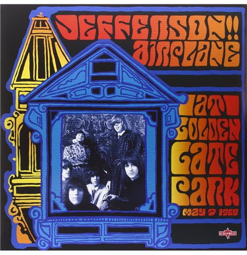 Vinil Jefferson Airplane - At Golden Gate Park (2 Lp)
