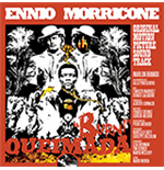 Vinil Ennio Morricone - Queimada (Clear & Orange Mixed Vinyl+Poster)