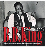 Vinil B.B. King - United Western Recorders Hollywood La, October 1 1972 (2 Lp)