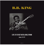 Vinil B.B. King - Live At Sunset Sound  Hollywood  Ca January 10  1972 (2 Lp)