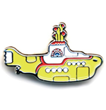 Pin Beatles - Medium Yellow Submarine