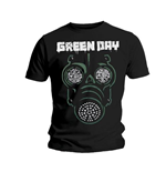 Camiseta Green Day Green Mask