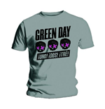 Camiseta para homem Green Day: Three Heads Better Than One