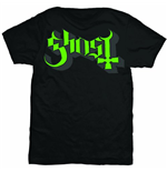 Camiseta Ghost  Green/Grey Keyline Logo