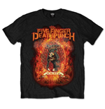 Camiseta Five Finger Death Punch Burn in Sin