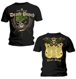 Camiseta Five Finger Death Punch Warhead Back Print