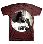 Camiseta Bob Marley Smokin Circle