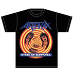 Camiseta Anthrax State of Euphoria