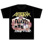 Camiseta Anthrax Euphoria Group Sketch