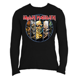 Camiseta manga longa Iron Maiden Eddie Evolution