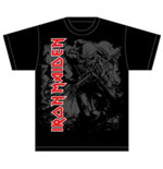 Camiseta Iron Maiden Hi Contrast Trooper