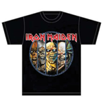 Camiseta Iron Maiden Eddie Evolution