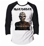 Camiseta manga longa Iron Maiden Book of Souls