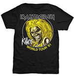 Camiseta Iron Maiden Killer World Tour '81