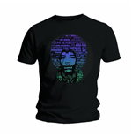 Camiseta Jimi Hendrix Afro Speech