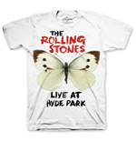 Camiseta The Rolling Stones Butterfly Hyde Park
