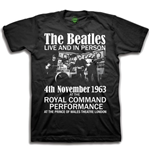 Camiseta Beatles Live & in Person