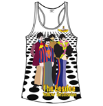 Camiseta de suspensorios Beatles Sea of Holes de mulher