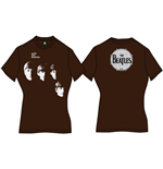 Camiseta Beatles With the Beatles de mulher