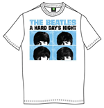 Camiseta Beatles Hard Days Night Pastel