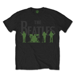 Camiseta Beatles Saville Row Lie Up with White Silhouettes