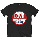 Camiseta Beatles  I love The Beatles