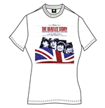 Camiseta Beatles The Beatles Story de mulher