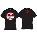 Camiseta Beatles de mulher I Love The Beatles