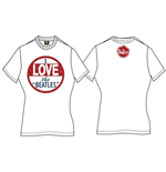 Camiseta Beatles I Love The Beatles de mulher