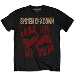 Camiseta System of a Down Fisticuffs