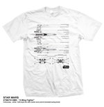 Camiseta Star Wars X-Wing Fighter