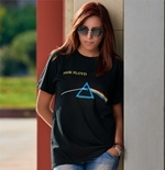 Camiseta Pink Floyd - Dark Side of the Moon de mulher